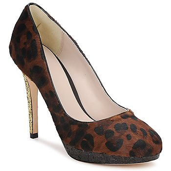 Skor Dam Pumps Bourne LAURA Leopard