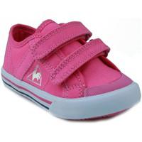 Skor Barn Sneakers Le Coq Sportif  DEAUVILLE PLUS ROSA