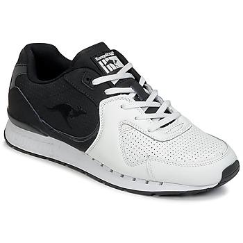 Skor Herr Sneakers Kangaroos COIL-R2 TONE Vit / Svart