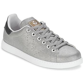 Skor Dam Sneakers Victoria DEPORTIVO BASKET TEJIDO FANT Silverfärgad