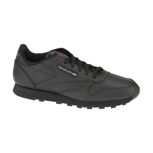 Skor Pojk Sneakers Reebok Sport Classic Leather  50149 Black
