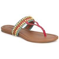 Skor Dam Sandaler Lucky Brand DOLLIS Mörk / Kamel / Capri / Blå