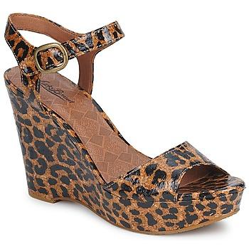 Skor Dam Sandaler Lucky Brand LINDEY Leopard