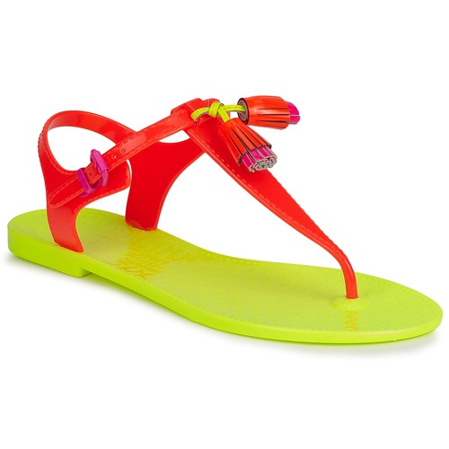 Skor Dam Sandaler Juicy Couture WISP Neon / Orange