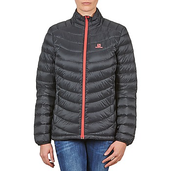textil Dam Täckjackor Salomon Jacket HALO DOWN JACKET W BLACK Svart