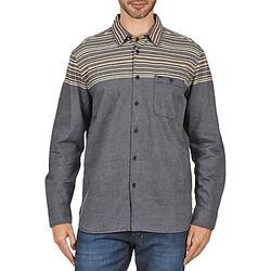 textil Herr Långärmade skjortor Element LENOX Grå