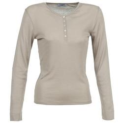 textil Dam Långärmade T-shirts Casual Attitude DORINE Mullvadsfärgad