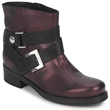 Skor Dam Boots Janet&Janet URSUS VAN Bordeaux