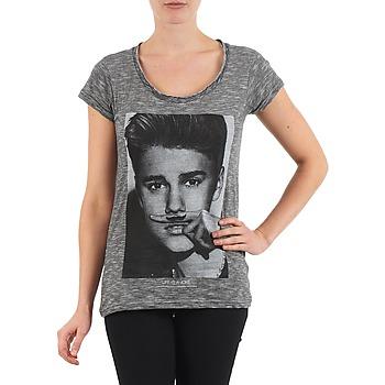 textil Dam T-shirts Eleven Paris BIEBER W WOMEN Svart