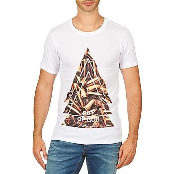 textil Herr T-shirts Eleven Paris CITYGOD M MEN Vit