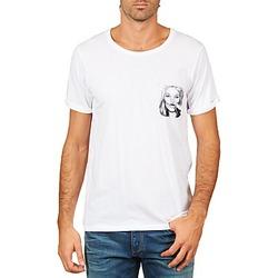 textil Herr T-shirts Eleven Paris KMPOCK MEN Vit