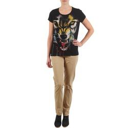 textil Dam Chinos / Carrot jeans Eleven Paris PANDORE WOMEN Beige