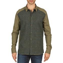 textil Herr Långärmade skjortor Eleven Paris VRAPP MEN Kaki