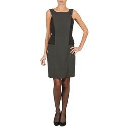 textil Dam Korta klänningar Manoukian PEPLUM Svart