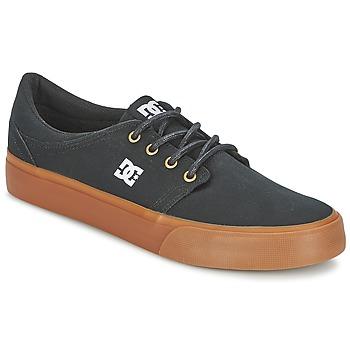 Skor Herr Sneakers DC Shoes TRASE TX Svart / Guldfärgad