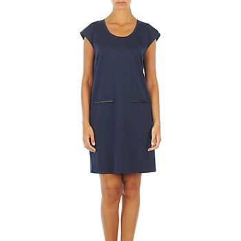 textil Dam Korta klänningar Vero Moda CELINA S/L SHORT DRESS Marin