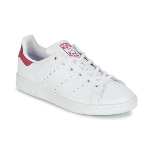 Skor Flick Sneakers adidas Originals STAN SMITH J Vit