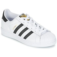 Skor Pojk Sneakers adidas Originals SUPERSTAR Vit