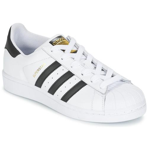 Skor Pojk Sneakers adidas Originals SUPERSTAR Vit