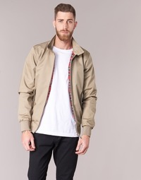 textil Herr Vindjackor Harrington HARRINGTON PAUL Beige
