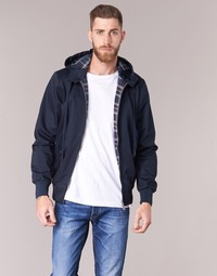 textil Herr Vindjackor Harrington HARRINGTON HOODED Marin