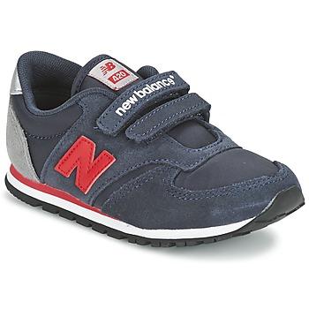 Skor Barn Sneakers New Balance KE420 Marin / Röd