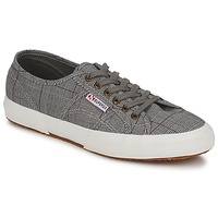 Skor Herr Sneakers Superga 2750 GALLESU Grå / Vit