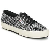 Skor Dam Sneakers Superga 2750 FANTASY Svart / Vit