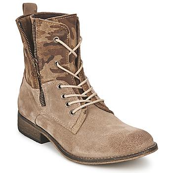 Skor Dam Boots Casual Attitude GRIVO Mullvadsfärgad