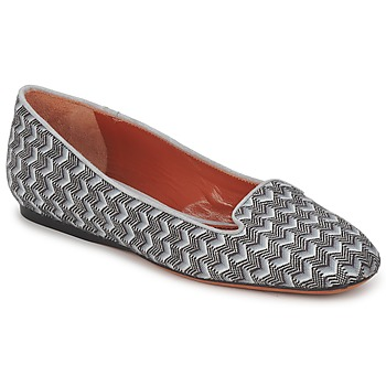 Skor Dam Loafers Missoni WM079 Grå