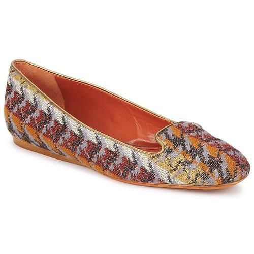 Skor Dam Loafers Missoni WM004 Flerfärgad