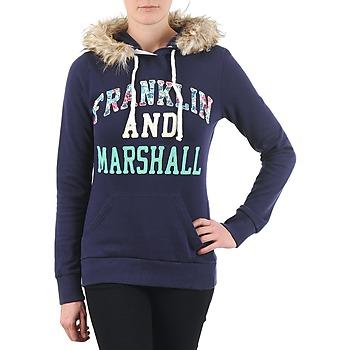 textil Dam Sweatshirts Franklin & Marshall COWICHAN Marin