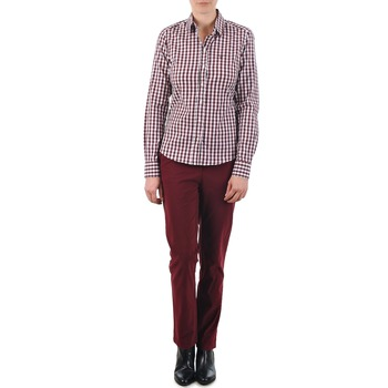 textil Dam Chinos / Carrot jeans Gant C. COIN POCKET CHINO Bordeaux