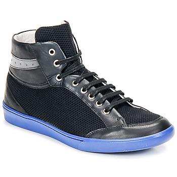 Skor Herr Höga sneakers Swear GENE 3 Svart / Blå