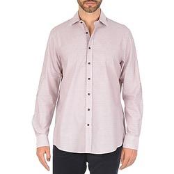 textil Herr Långärmade skjortor Hackett MULTI MINI GRID CHECK Flerfärgad