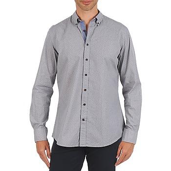 textil Herr Långärmade skjortor Hackett MEDALLION MULTI BD Blå