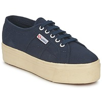 Skor Dam Sneakers Superga 2790 LINEA UP AND Marin