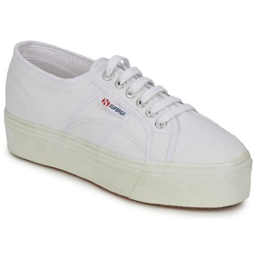 Skor Dam Sneakers Superga 2790 LINEA UP AND Vit