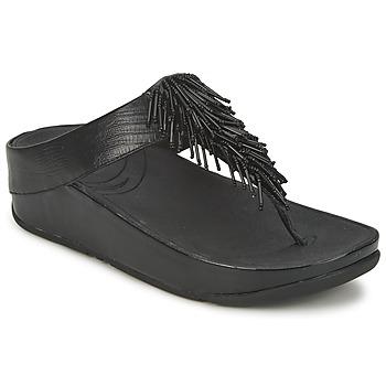 Skor Dam Flip-flops FitFlop CHACHA Svart