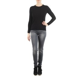 textil Dam Stuprörsjeans 7 for all Mankind THE SKINNY DARK STARS PAVE Grå