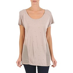 textil Dam T-shirts La City MC BEIGE Beige