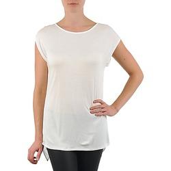 textil Dam T-shirts La City TS CROIS D6 Vit