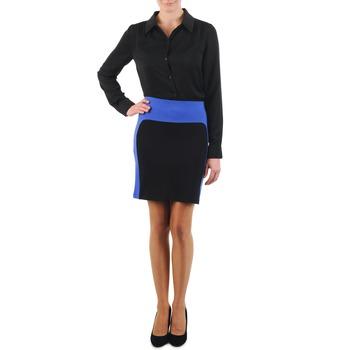 textil Dam kjolar La City JMILBLEU Svart / Blå