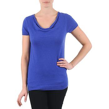 textil Dam T-shirts La City PULL COL BEB Blå