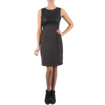 textil Dam Korta klänningar La City RTANIA Svart / Grå