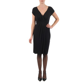 textil Dam Korta klänningar La City ROBE3D1B Svart