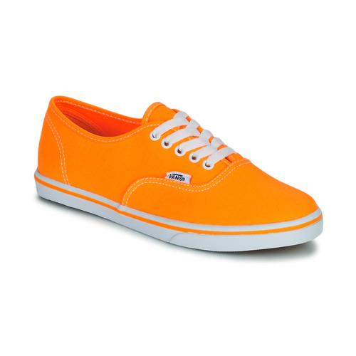 Skor Dam Sneakers Vans AUTHENTIC LO PRO Orange
