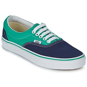 Skor Sneakers Vans ERA Blå / Grön