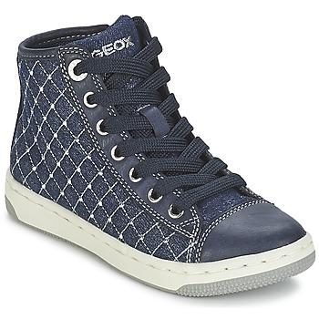 Skor Flick Höga sneakers Geox CREAMY B Marin