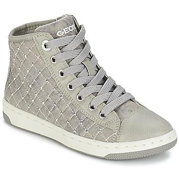 Skor Flick Höga sneakers Geox CREAMY B Grå